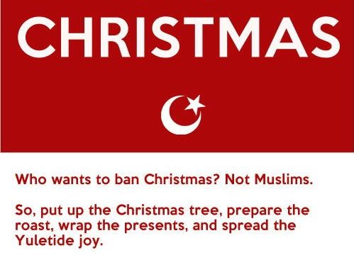 Christmas wishes to all from the Muslim Council of Great Britain